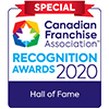 Canadian Franchise Association Recognition Award 2020 winner